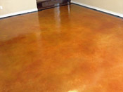 stained concrete floor austin
