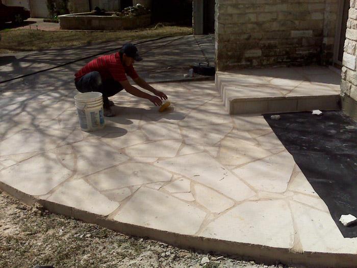 ... New Stone Patio In Austin, TX
