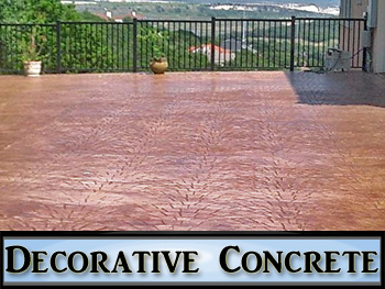 decorative concrete contractor in Austin